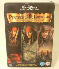Pirates of the Caribbean 1, 2, 3 DVD set R2