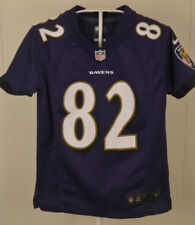 Nike Baltimore Ravens Jersey #82 Torrey Smith NFL Youth Small (8) Sewn Purple