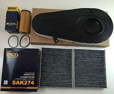 FILTRO OLIO Stallone + FILTRO ARIA 2x carbone attivo filtro SCT GERMANY BMW 5er f10 7er f01