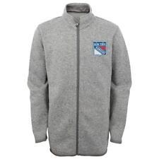 New Licensed New York Rangers YOUTH SIZE M (10-12) Sweatshirt Jacket__S30
