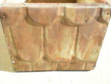 Sale Primitive Hand Tooled Box Edwards Copper Bearing Steel Barn Roof Chic