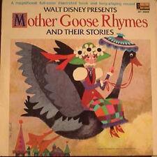 Disney: Mother Goose Rhymes - Storybook LP (#3949)