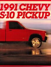 1991 91 Chevrolet S 10 Pickup original brochure MINT