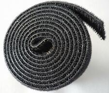 Klettband Klettkabelbinder Kabelbinder Klettverschluss 1m 100cm1000x19mm schwarz