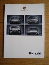 Porsche gama folleto 2005 Jm