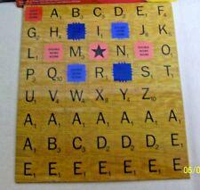 "#CSPEC WILD & WOLF ""SCRABBLE"" WORD GAME ALPHABET REFRIGERATOR MAGNETIC TILES SET"