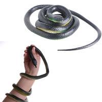 1 x Simulation Rubber Fake Snake Party Halloween Joke Prank Prop Funny Toys U8_A