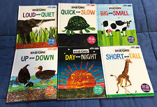 The World of Eric Carle Book Lot of 6 My First Smart Pad Hardcover Opposites