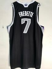 Adidas Swingman NBA Jersey Sacramento Kings Jimmer Fredette Black Alternate 2X