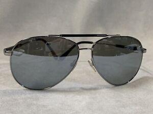 Tom Ford Rick Gunmetal / Gray Mirrored Sunglasses TF378 14Q No Case