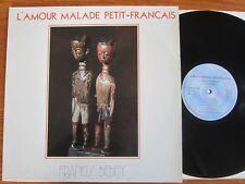 RARE ORIGINAL VINYL LP FRANCIS BEBEY L'AMOUR MALADE PETIT FRANCAIS AFRO NM