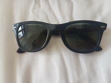 Vintage Ray Ban Wayfarer Black Sunglasses Women's B7L5024 RayBan Original Retro