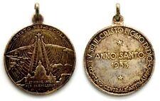 Medaglia Religiosa Anno Santo 1933 – Comitato Centrale Antiblasfemo – Tu Sei Il