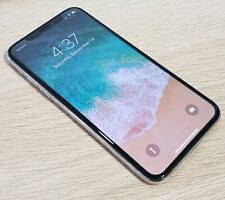 Apple iPhone X - 64GB - Silver (CDMA + GSM) **Excellent Condition**