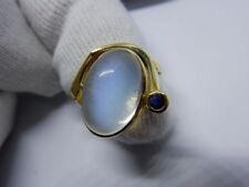 Handgefertigte Saphir Echtschmuck-Ringe aus Gelbgold
