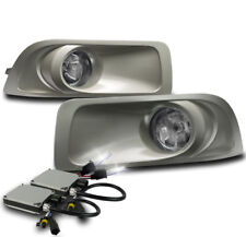 CHROME BUMPER DRIVING FOG LIGHTS LAMP W/6K XENON HID FOR 2010 2011 2012 OUTBACK
