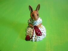 Royal Doulton Bunnykins Busy Needles Db 10 Made in England 1974 Original