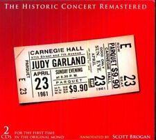Judy Garland - The Historic Carnegie Hall Concert [CD]
