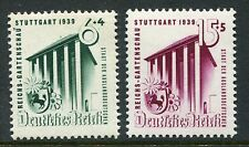 GERMANY 1939 HORTICULTURAL EXHIBITION MNH Set 2 Stamps