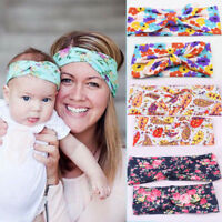 2pcs/set Cloth Headband Baby Girl Women Child Kid Hairband Hearwear Accessories