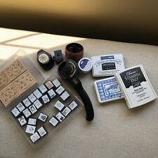 Stampin' Up Rubber Stamps And Ink Lot