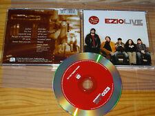 EZIO - LIVE , CAMBRIDGE / ALBUM-CD 2005 MINT-