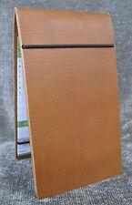 PGA tour Leather golf scorecard & yardage book holder wallet USA Made Spieth