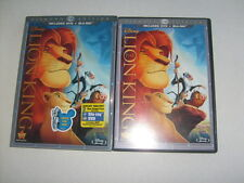 LION KING- DVD And Blu-ray 2 Disc Combo Diamond Edition w/slipcover