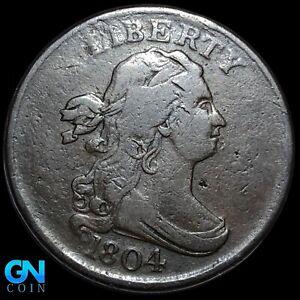 1804 Draped Bust Half Cent --  MAKE US AN OFFER! #K8174