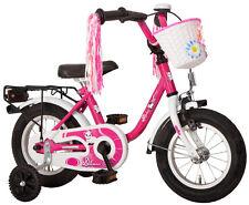 """Kinderfahrrad 12"""" Zoll (=30,5cm) DREAM CAT pink Stützräder + Seitenständer NEU"""