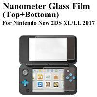 Top + Bottom LCD Écran Protecteur de Film Guard pour Nintendo New 2DS LL/XL 2017