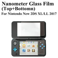 Top + Bottom LCD Écran Protecteur de Film Guard pour Nintendo New 2DS LL/XL 2017