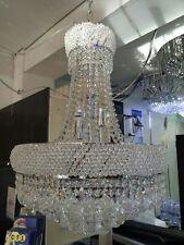 NEW!! Chrome K9 Clear Crystal Chandelier Pendant Light Ceiling Light 50*66cm