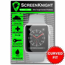 ScreenKnight Apple Watch Series 3 (38MM) SCREEN PROTECTOR - CURVED FIT