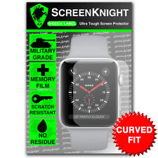 Screenknight Apple Watch Series 3 (38 mm) Protecteur d'écran-Courbé Fit