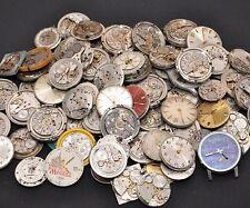 100 x UHRWERKE von Armbanduhren ERSATZTEILE MOVEMENTS KONVOLUT MARKENUHREN