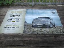 2013 2014 Dodge Ram 1500 Truck of the Year Banner 4' x 7' Dealer Only Vinyl Ad