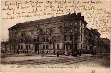 CPA Lyon-Place Edgar Quinet, Le Lycée de Jeunes Filles (427210)