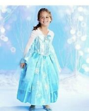 SIZE 9/10~FROZEN ELSA GOWN~A++ Quality! ~RETIRED DELUXE ORIGINAL DISNEY~New TAG