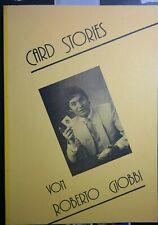 Card Stories von Roberto Giobbi, 2. Auflage 1986, deutschsprachiges Skript
