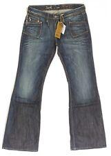 Jeans large Vintage pattes d'eph bootcut femme REDWOOD JERK RWD taille W 30
