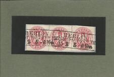 Preußen / BERLIN /STADT - POST - EXP XII, 2 Ra3 auf Luxusbriefstück m. Dreierstr
