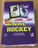1991 Score Hockey Trading Cards Factory Sealed Wax Box