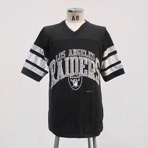 Vintage 1993 Los Angeles Raiders Tshirt Made in USA Logo 7 Oakland Las Vegas