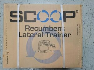 Scoop Lateral Trainer Under Desk Exercise Machine - New Condition