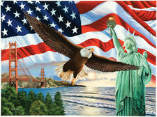 Jigsaw Puzzle Patriotic From Sea to Shining Sea 1000 pieces NEW Made in the USA