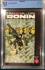 Ronin 2 Comic Book Cbcs 9.2 not Cgc Frank Miller Sin City Dark Knight Returns