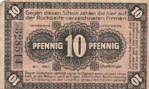 NEUHALDENSLEBEN - 10 PFENNIG - 1919
