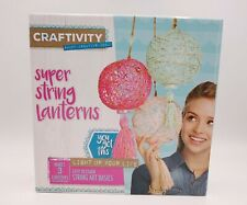 Creativity for Kids Super String Lanterns Craftivity Craft Kit