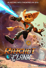 Ratchet and Clank - A3 Film Poster - FREE UK P&P